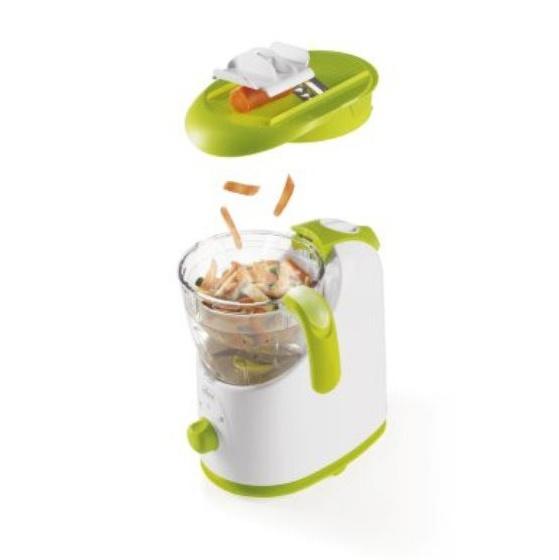 Robot de bucatarie Chicco gateste cu abur 0 BPA