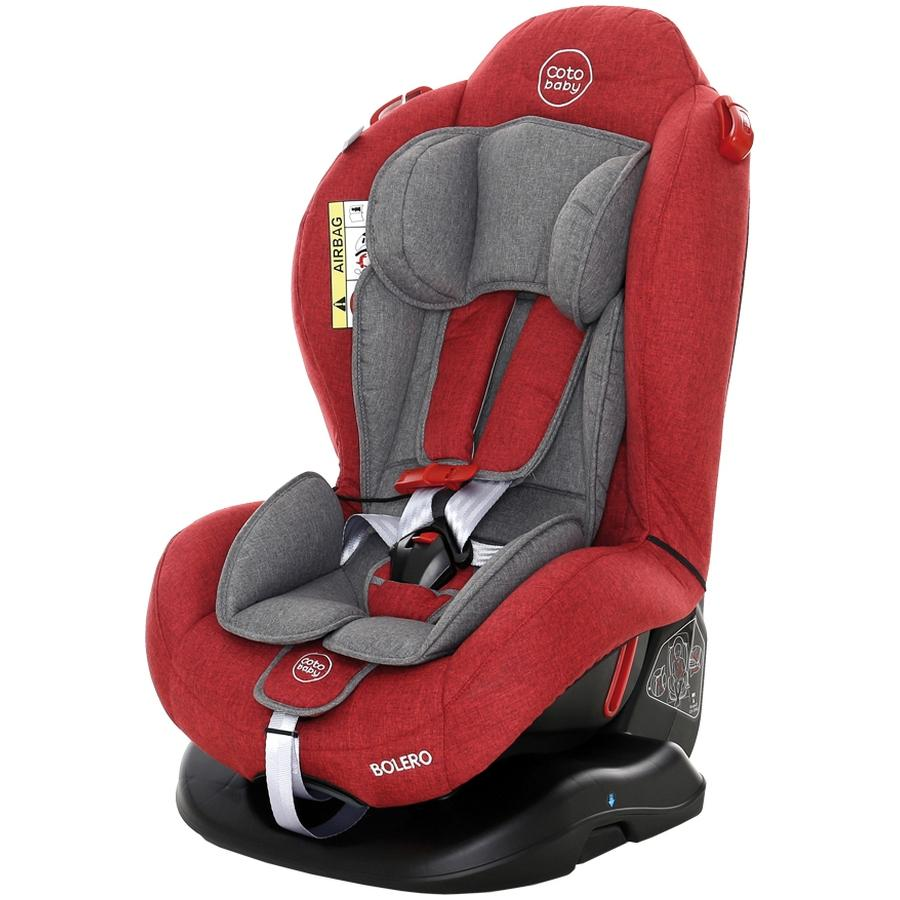 Scaun auto Bolero Coto Baby Melange Rosu