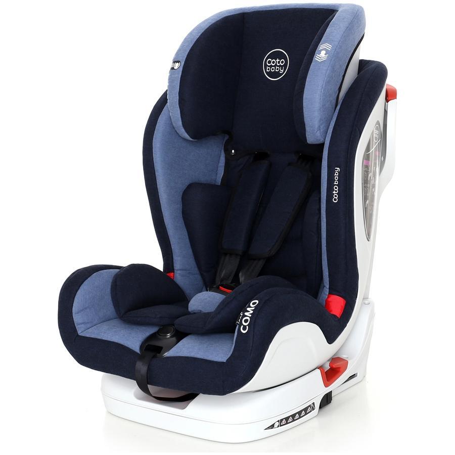 Scaun auto cu Isofix Como Coto Baby Melange Albastru
