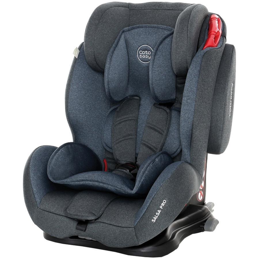 Scaun auto cu Isofix Salsa Pro Coto Baby Melange Albastru din categoria Scaune Auto Copii de la Coto Baby