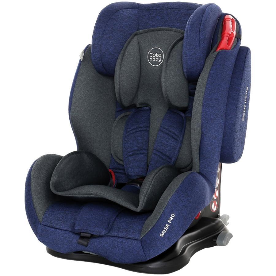 Scaun auto cu Isofix Salsa Pro Coto Baby Melange Albastru Inchis