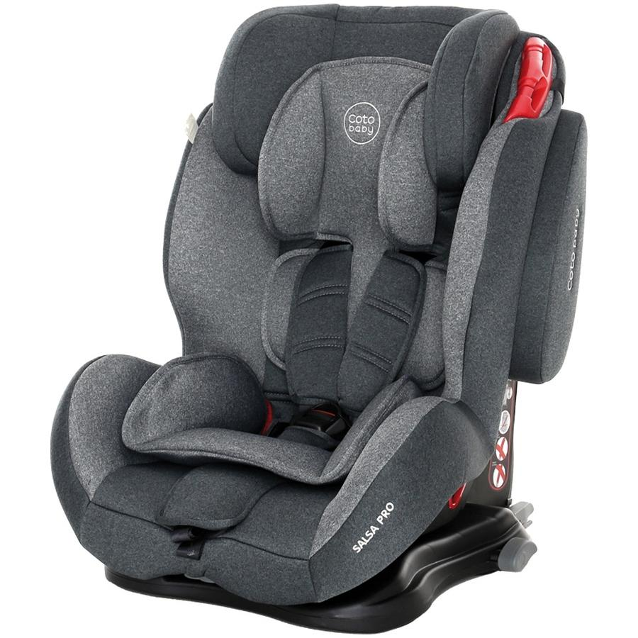 Scaun auto cu Isofix Salsa Pro Coto Baby Melange Gri