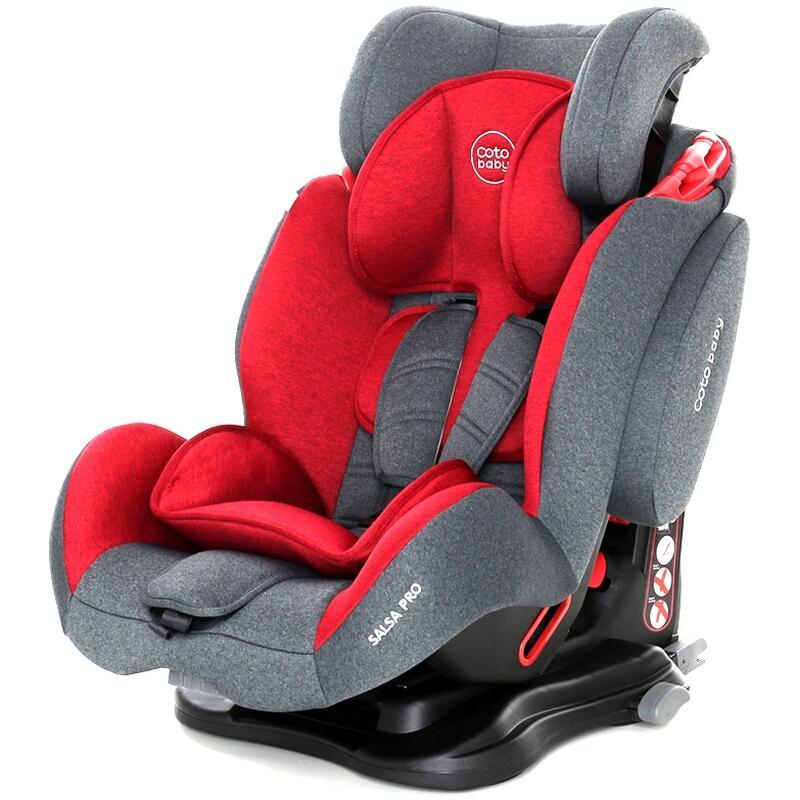 Scaun auto cu Isofix Salsa Pro Coto Baby Melange Rosu