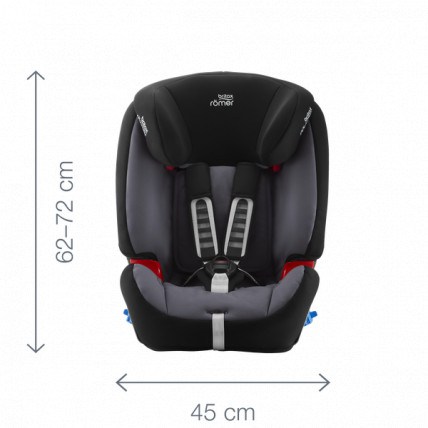 Scaun auto rearward facing Multi-Tech III Moonlight blue Britax-Romer