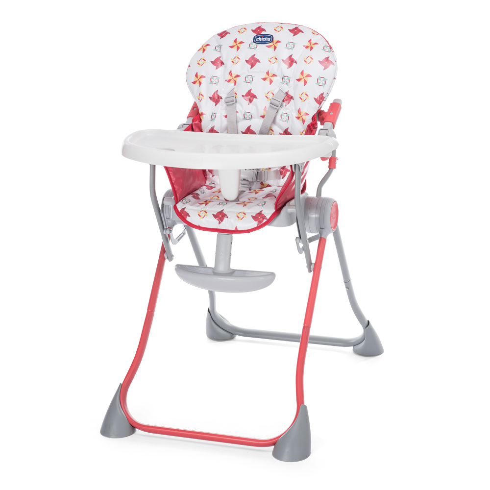 Scaun de masa Chicco Pocket Meal Red 6luni+