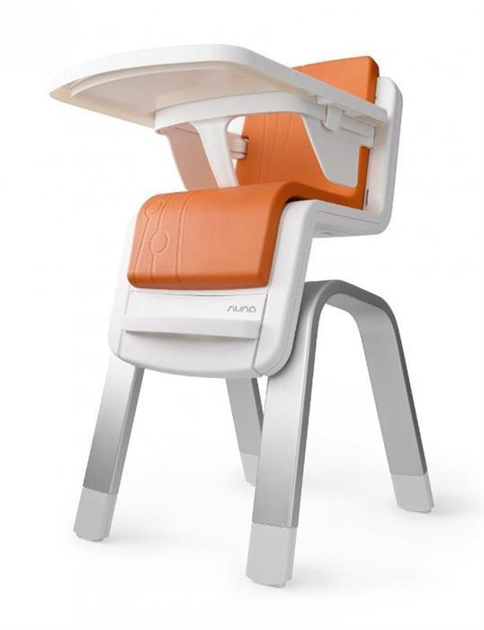 Scaun de masa Zaaz White-Orange