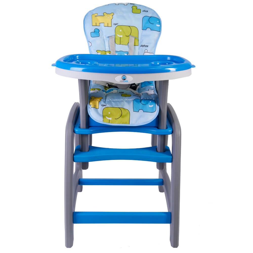 Scaun de masa multifunctional Kidscare Albastru