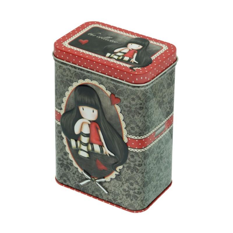 Set 3 cutii metalice Gorjuss Dear Alice, The Collector, Little Song.
