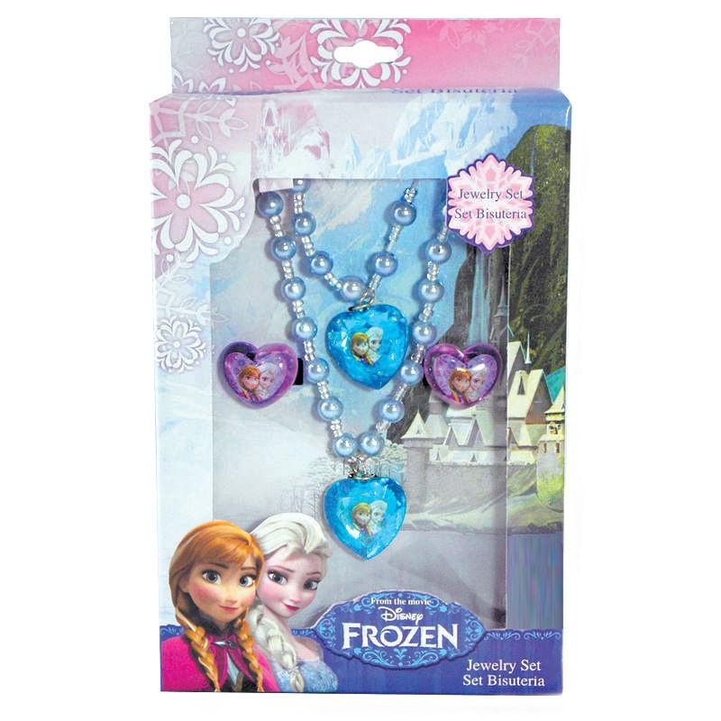 Set bijuterii Colier, 2 inele, bratara Frozen