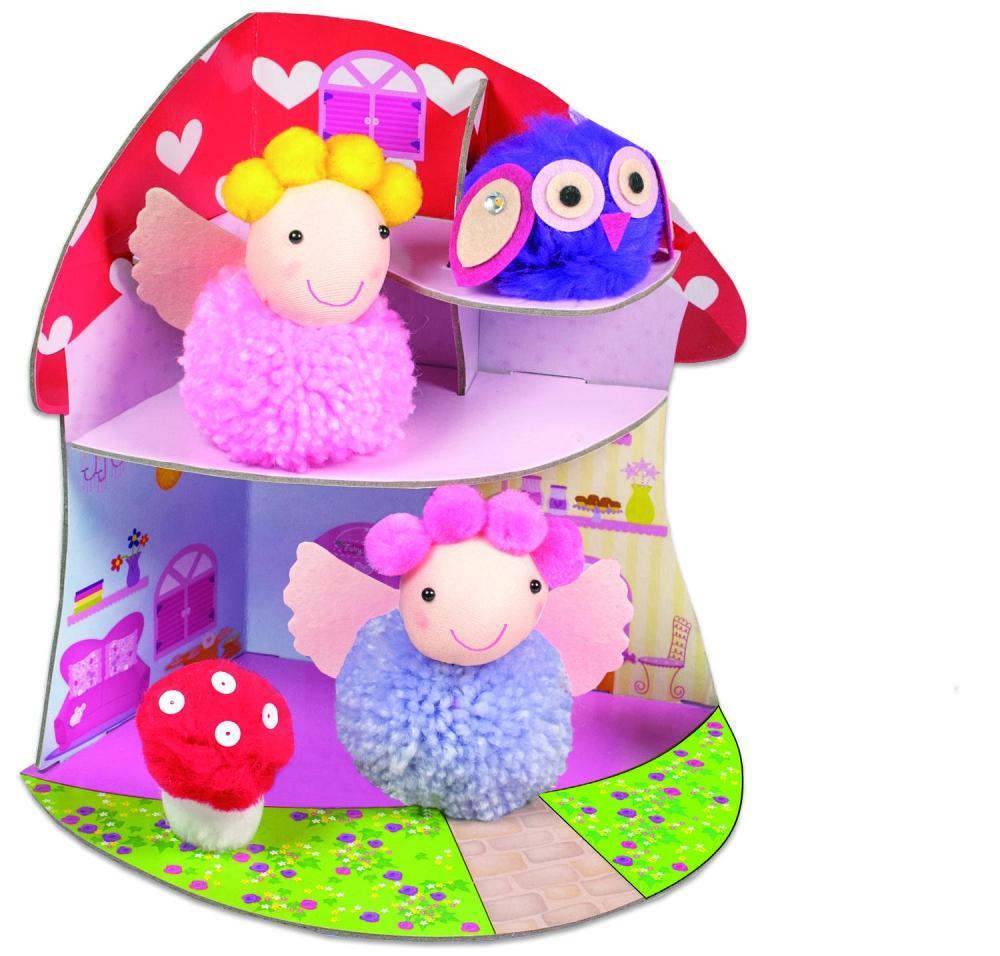 Set creativ - Fairy Pompom House