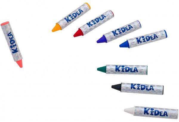 Set creioane pentru pictura pe fata Globo Kidea