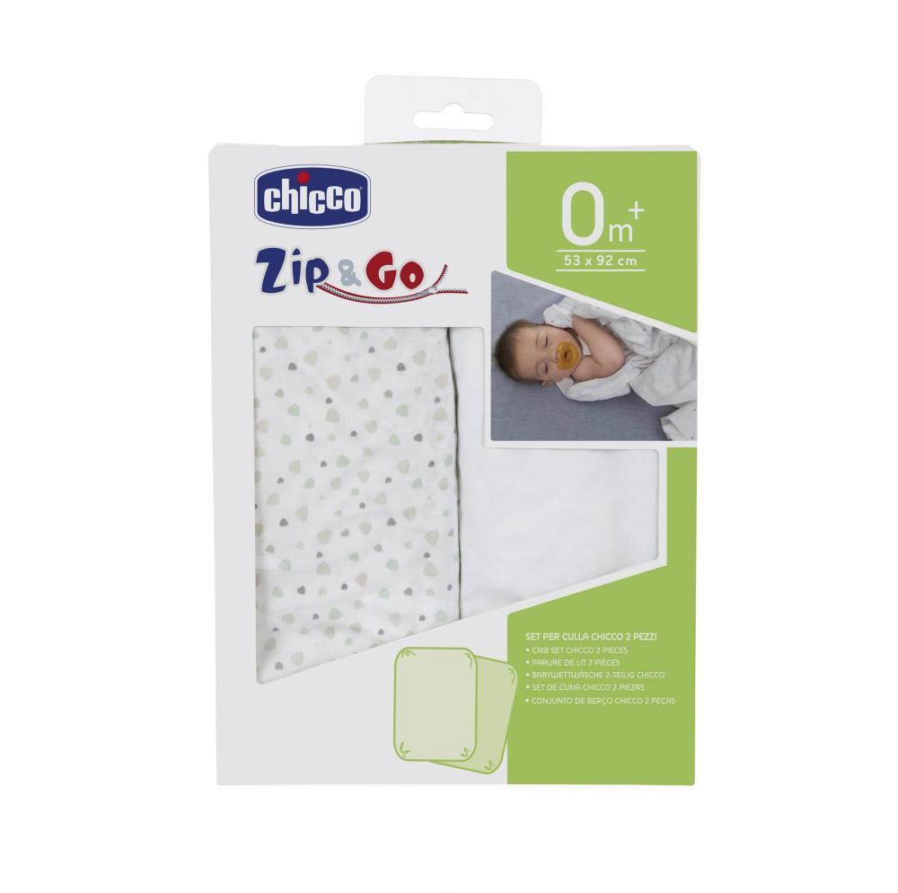 Set lenjerie pat Chicco Zip Go