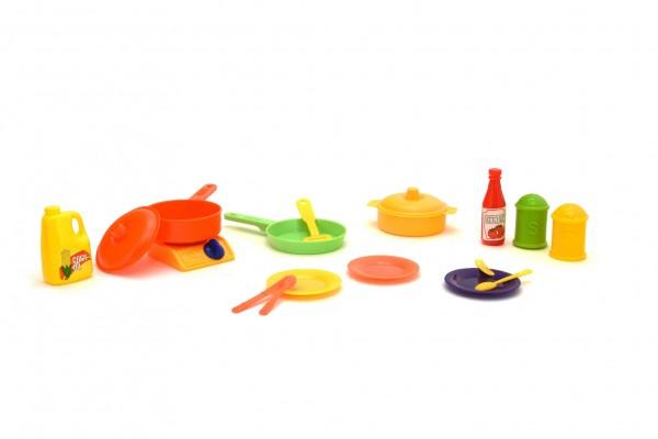 Set oale si accesorii bucatarie din plastic Globo