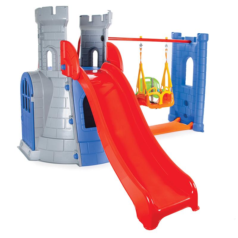 Spatiu de joaca Castel Swing and Slide