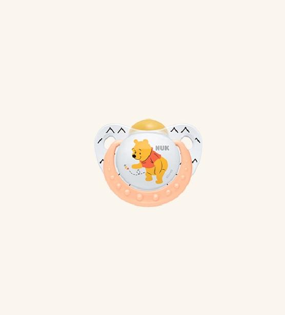 Suzeta din latex mar.1 NUK Disney Winnie the Pooh (0-6 luni)