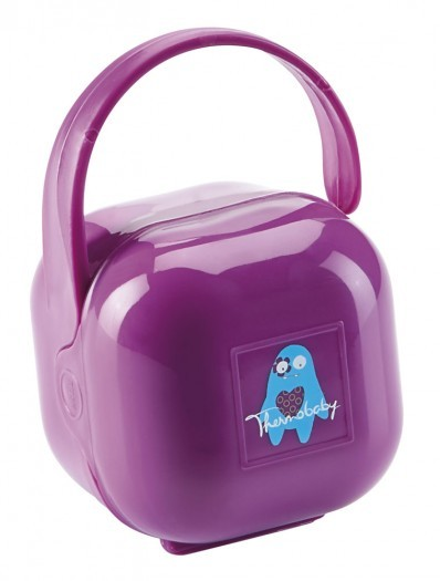 Set suzeta si accesorii Thermobaby Purple