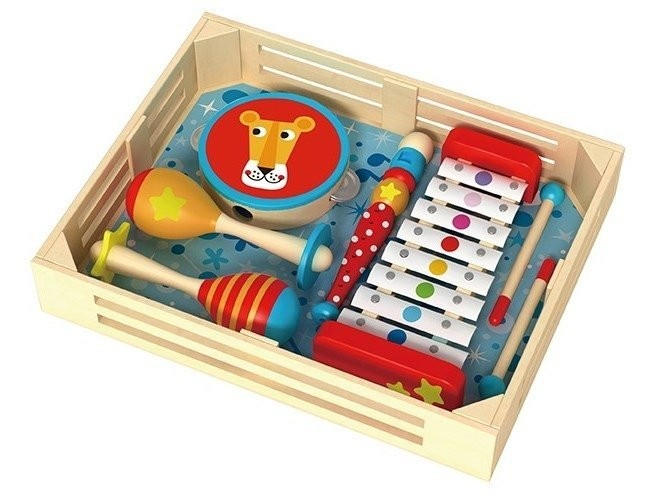 Instrumente muzicale set Tooky Toy