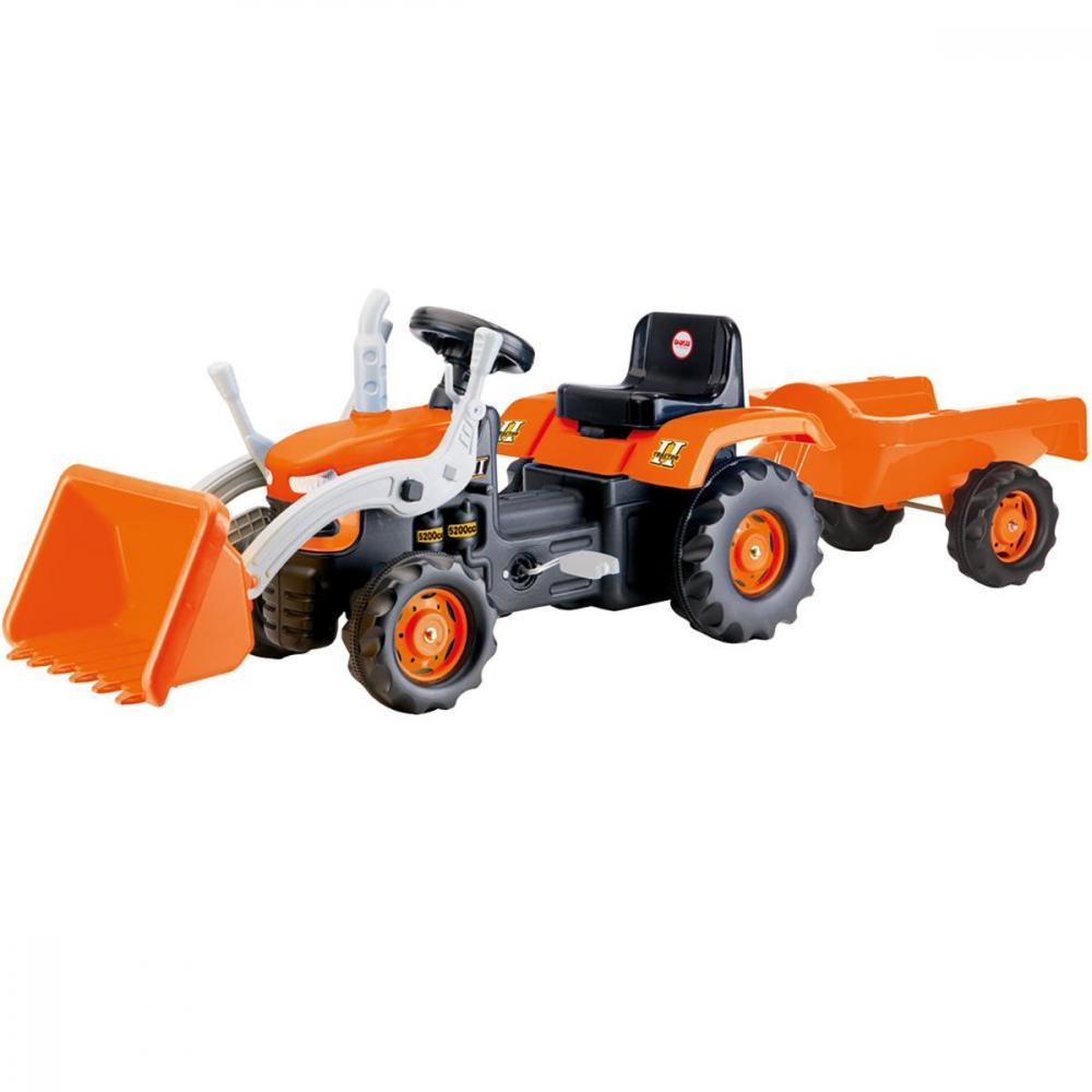 Tractor cu remorca si cupa