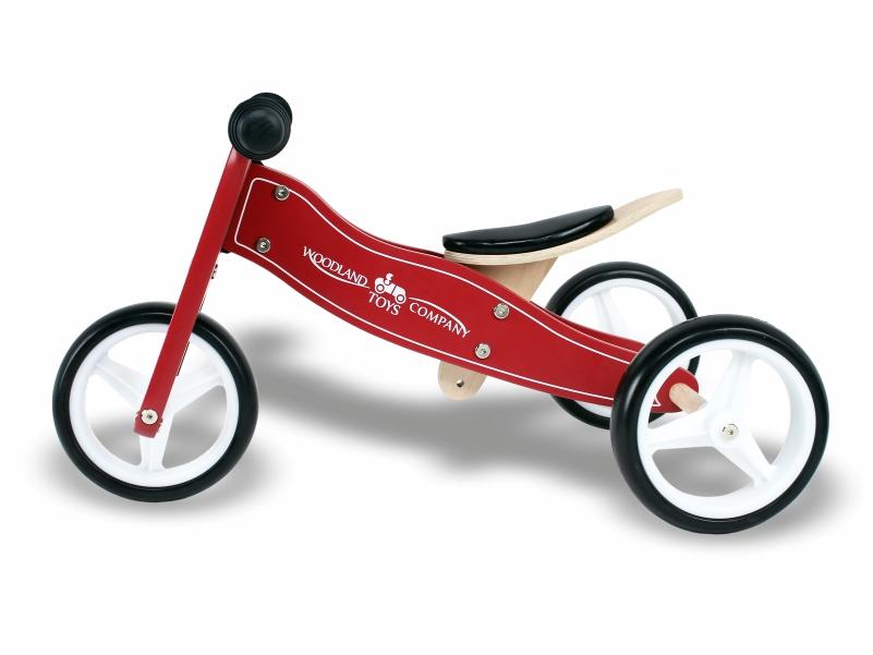 Tricicleta 2 in 1 Woodland imagine
