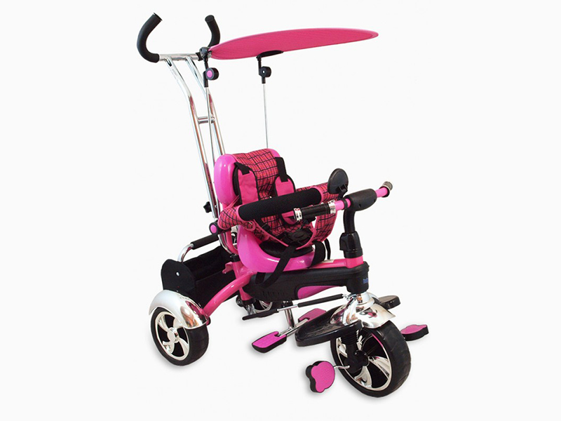 Tricicleta copii Baby Mix GR01 pink imagine