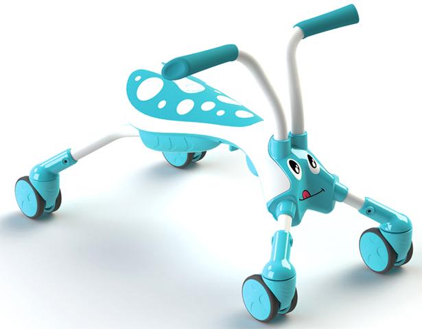 Tricicleta pliabila fara pedale Scramblebug Splash
