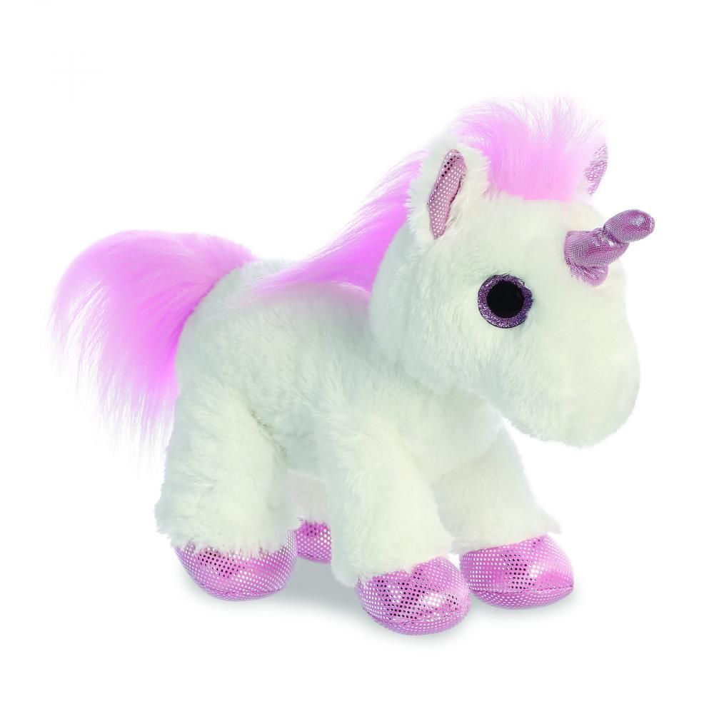 Unicorn de plus Princess Alb 30 cm