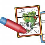 Carte colorat apa magica ferma animalelor