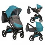 Carucior 3 in 1 Cangaroo S-Line Teal
