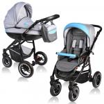 Carucior Crooner 2 in 1 Vessanti Blue/Gray