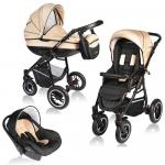 Carucior Crooner 3 in 1 Vessanti Cream