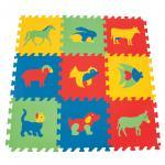 Covor puzzle din spuma Animale