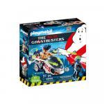 Ghostbuster Stantz si motocicleta