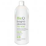 Gel de dus biologic BioQ cu extras vegetal bio de Ceai verde