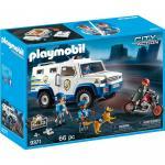 Masina de politie blindata Playmobil