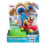 Figurine cu lansator Rolly Puppy Dog Pals