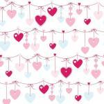 Rola tapet 10 x 0,52 m Hearts
