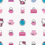 Rola tapet 10 x 0,52m Hello Kitty Fashion
