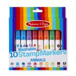 Set 10 stampile marker lavabile Animale Melissa and Doug