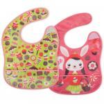 Set 2 bavetele  design pentru fetite