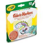 Set carioci textile 10 culori
