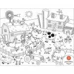 Set Complet pentru Desen cu Plansa Refolosibila din Silicon Ferma