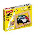 Set creativ pentru copii Mini Pixel Art Papagal Quercetti