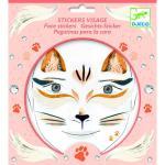 Stickere pentru fata Djeco pisica