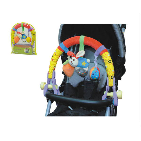 Arcada Cu Jucarii Pentru Carucior Toy Arch Bunny