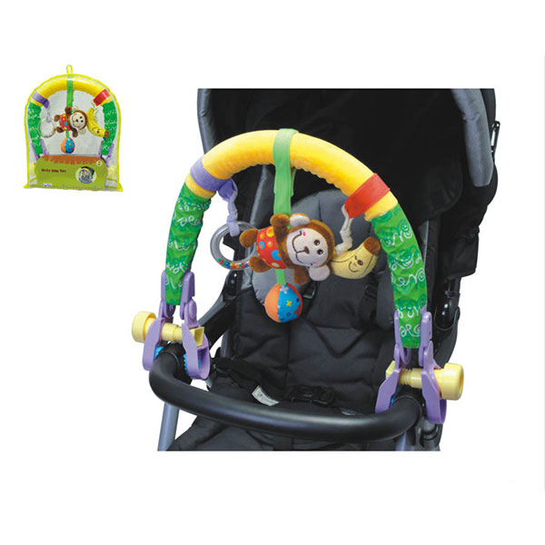 Arcada cu jucarii pentru carucior Toy Arch Monkey imagine