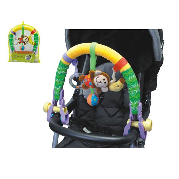 Arcada Cu Jucarii Pentru Carucior Toy Arch Monkey