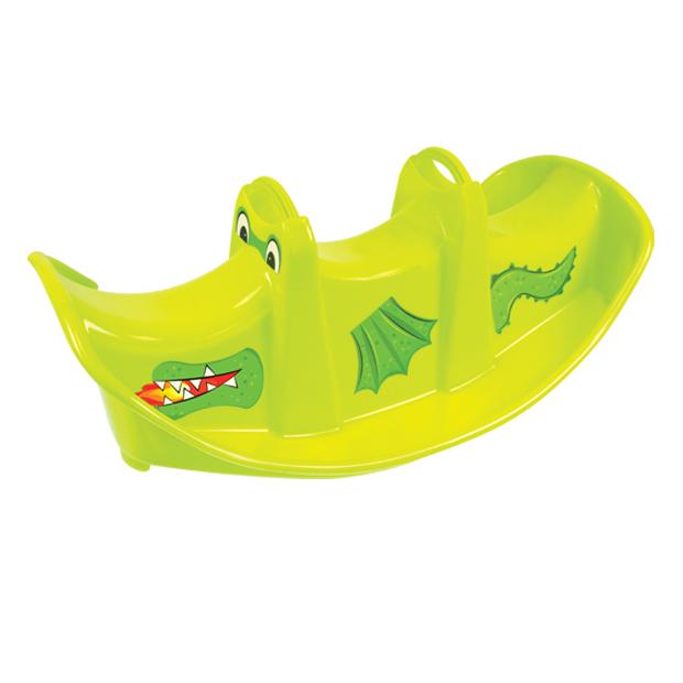 Balansoar pentru copii Double Swing Dragon Green