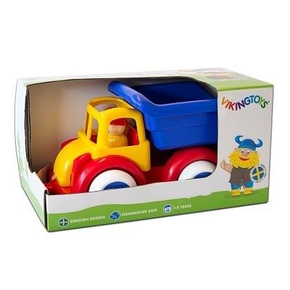 Camion Autobasculanta cu 2 figurine Jumbo