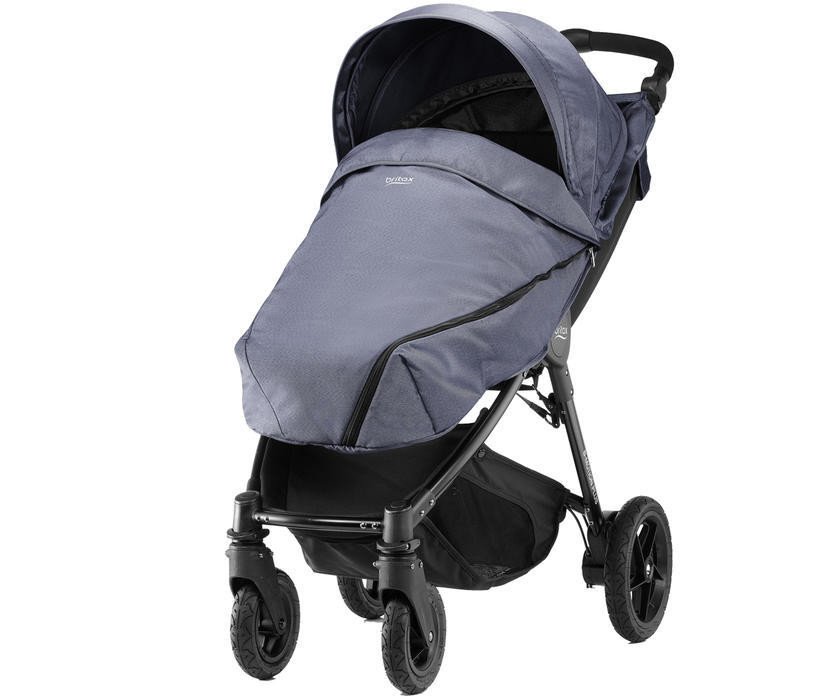 Carucior B-Agile 4 Plus Blue Denim Britax imagine