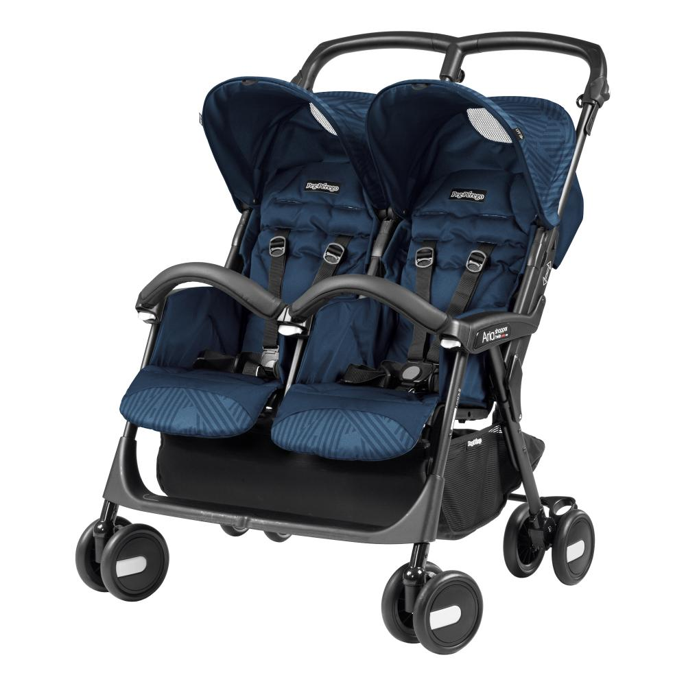 Carucior Peg Perego Aria Shopper Twin Geo Navy thumbnail